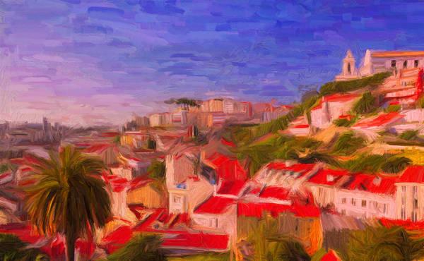 Digital Art - Lisbon 1 by Caito Junqueira