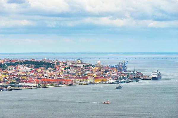 Vasco Da Gama Bridge Wall Art - Photograph - Lisbon 10 by Tom Uhlenberg