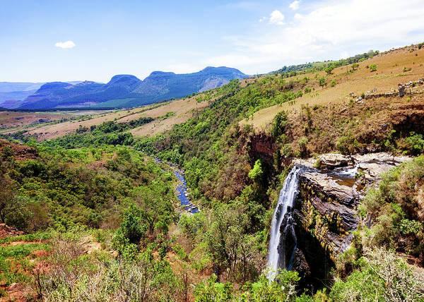 Wall Art - Photograph - Lisbon Falls In Mpumalanga - South Africa by Susan Schmitz