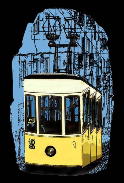 Digital Art - Lisbon by Piotr Dulski