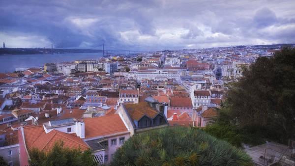 Photograph - Lisbon Portrait Painterly by Joan Carroll