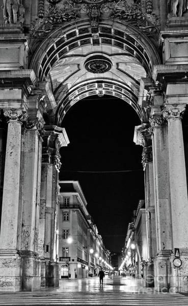 Lisbon - Portugal - Triumphal Arch - Rua Augusta Art Print