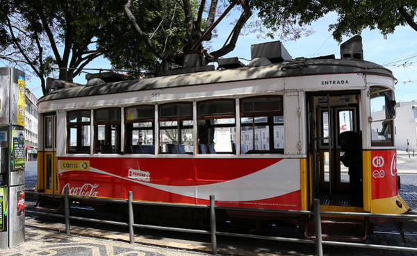 Photograph - Lisbon Trolley 1 by Andrew Fare