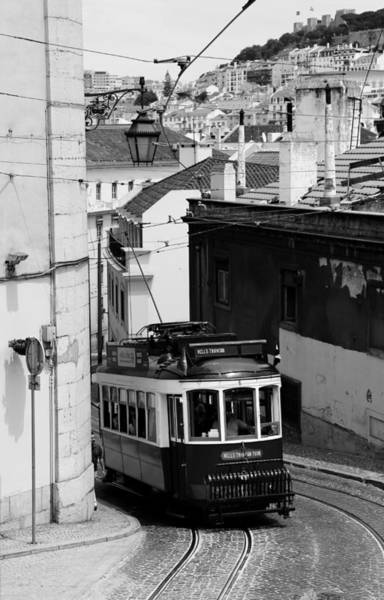 Photograph - Lisbon Trolley 11b by Andrew Fare