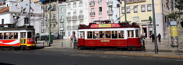 Photograph - Lisbon Trolley 12 by Andrew Fare