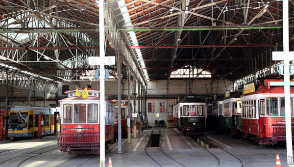 Photograph - Lisbon Trolley 13 by Andrew Fare