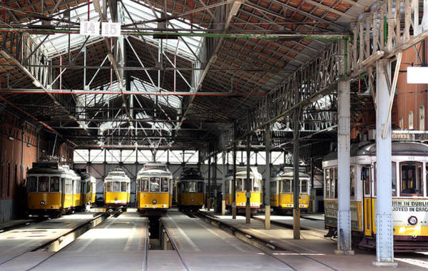 Photograph - Lisbon Trolley 14 by Andrew Fare
