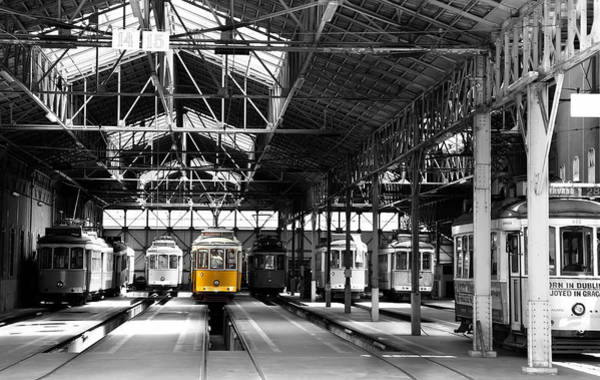 Photograph - Lisbon Trolley 14c by Andrew Fare