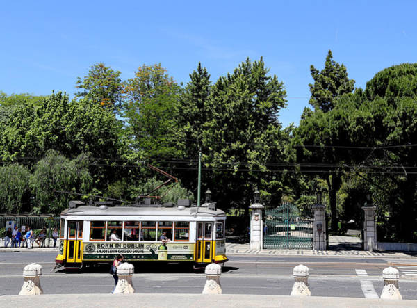 Photograph - Lisbon Trolley 15 by Andrew Fare