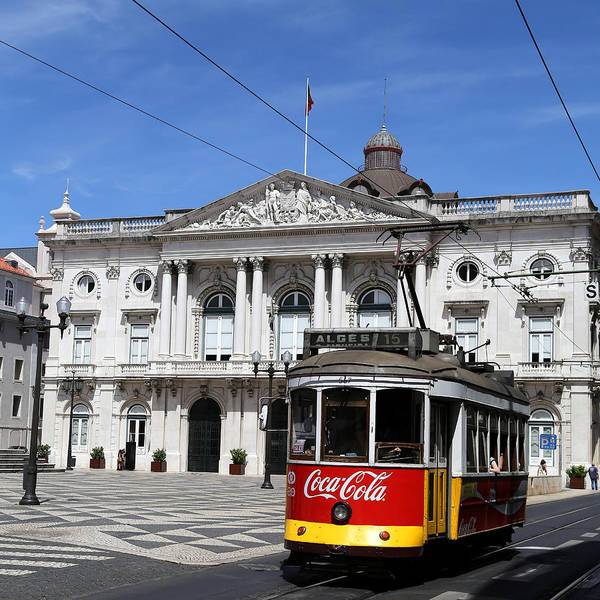 Photograph - Lisbon Trolley 2 by Andrew Fare