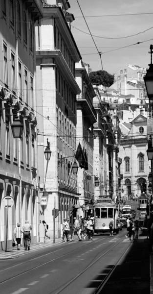Photograph - Lisbon Trolley 3b by Andrew Fare