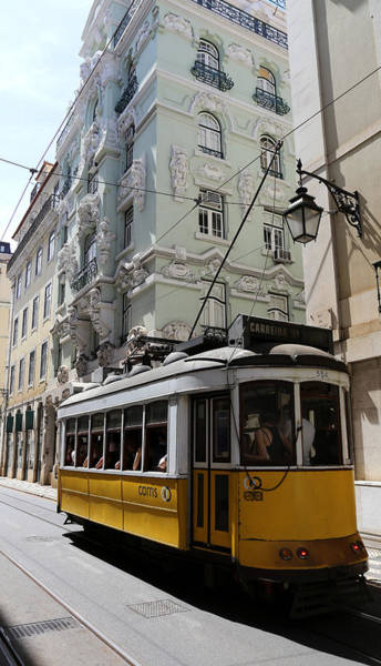 Photograph - Lisbon Trolley 4 by Andrew Fare