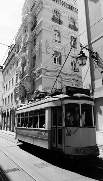 Photograph - Lisbon Trolley 4b by Andrew Fare
