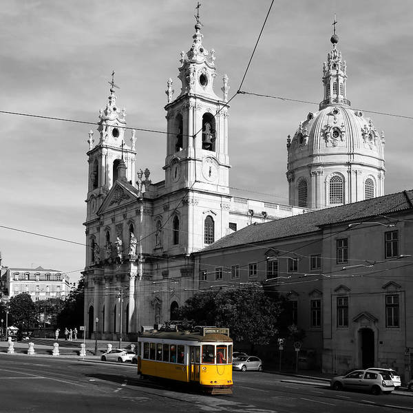 Photograph - Lisbon Trolley 5c by Andrew Fare