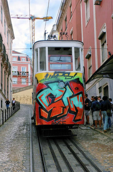 Wall Art - Photograph - Lisbon Trolley - Portugal by Madeline Ellis
