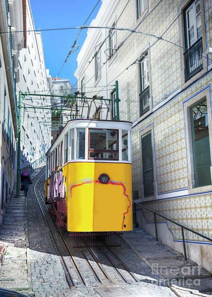 Photograph - Lisbon's City Street by Ariadna De Raadt