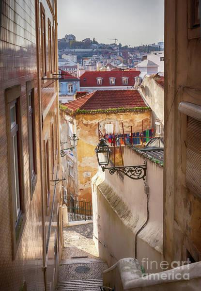 Photograph - Lisbon's City Streets by Ariadna De Raadt