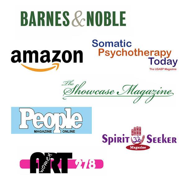 Mixed Media - List Of Book Stores And Publications Of Irina Sztukowski Art by Irina Sztukowski