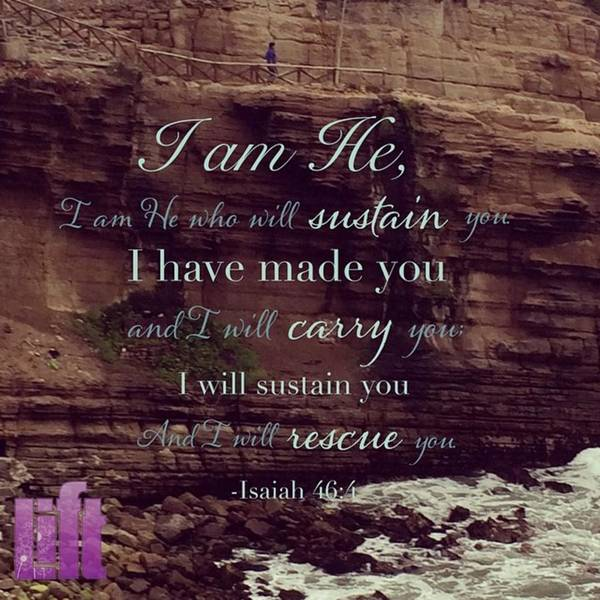 Design Wall Art - Photograph - listen To Me, You Descendants Of by LIFT Women's Ministry designs --by Julie Hurttgam