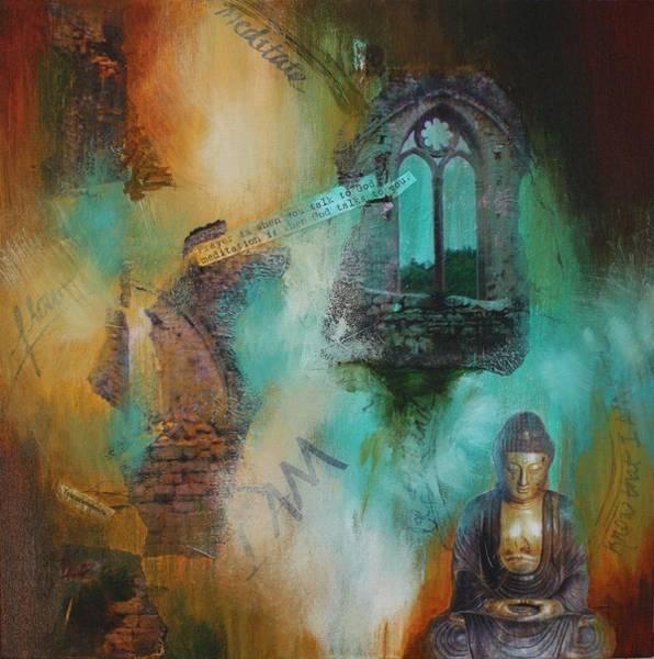 Painting - Listening by Tara Moorman