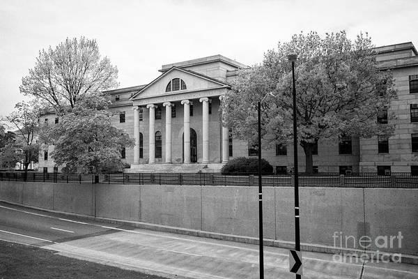 Wall Art - Photograph - littauer center of public administration harvard university Boston USA by Joe Fox