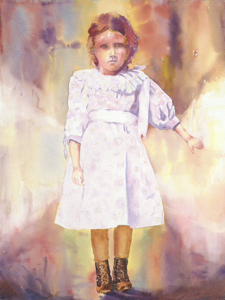 Painting - Little Anna by Tara Moorman