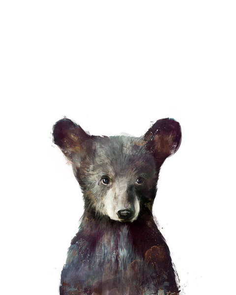 Fauna Wall Art - Painting - Little Bear by Amy Hamilton