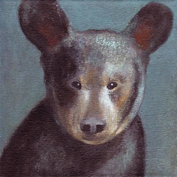 Painting - Little Bear by Kazumi Whitemoon
