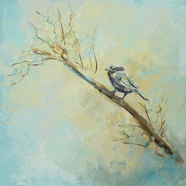 Painting - Little Bird 5602 by Jai Johnson