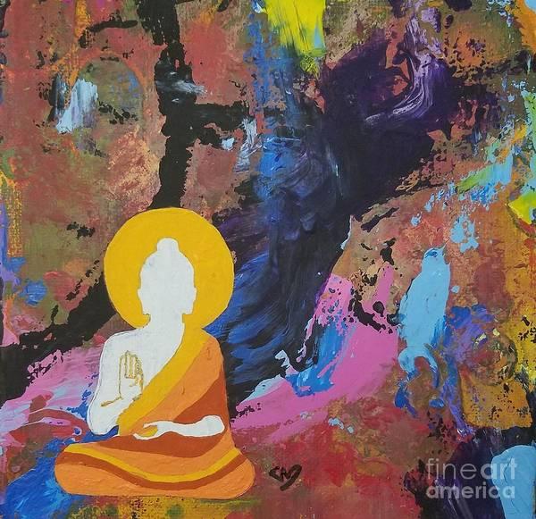 Understanding Painting - Little Buddha  by Steve DeFoe