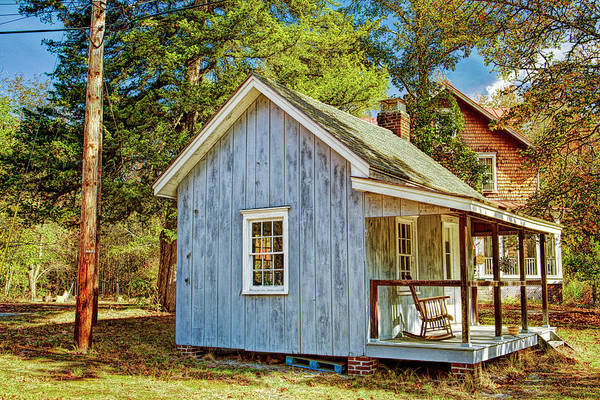 Wall Art - Photograph - Little Cabin In The Country Pine Barrens Of New Jersey by Geraldine Scull