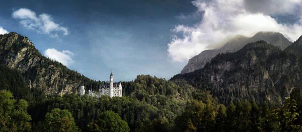 Schloss Wall Art - Photograph - Little Castle On The Hill by Robert Fawcett