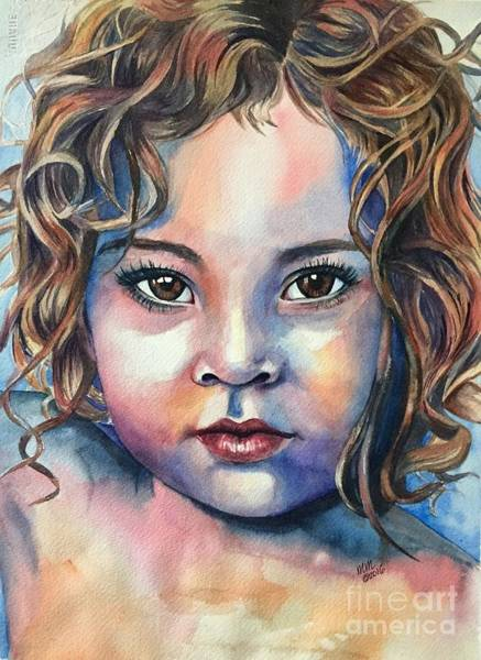 Painting - Little Cherub by Michal Madison