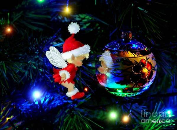Photograph - Little Christmas Elf by Morag Bates