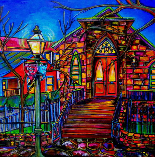 Little Church At La Villita II Art Print