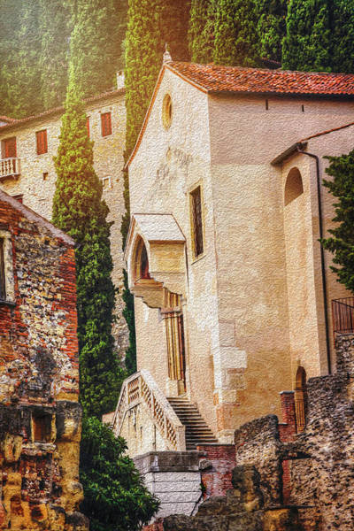 Northern Italy Photograph - Little Church In Verona Italy  by Carol Japp