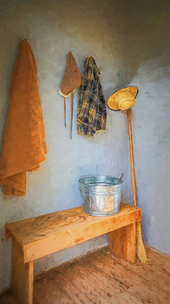 Photograph - Little Coatroom On The Prairie by Susan Rissi Tregoning