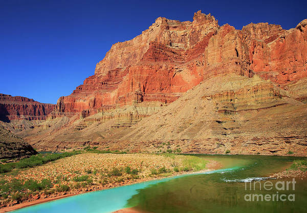 Wall Art - Photograph - Little Colorado River Confluence #1 by Inge Johnsson