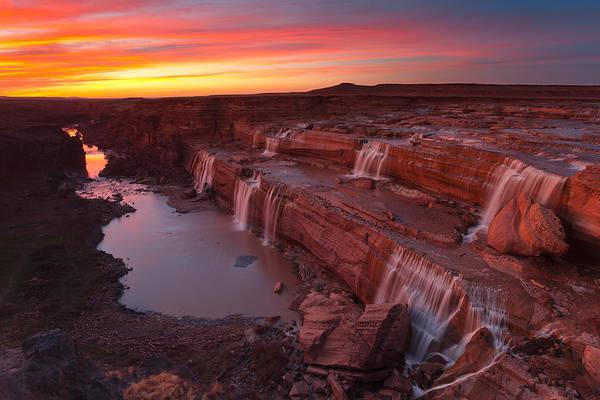 Photograph - Little Colorado Sunset by Darren White