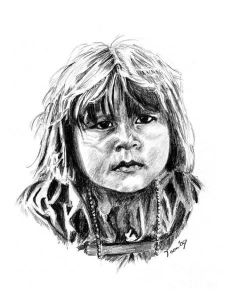 Little Comanche Art Print