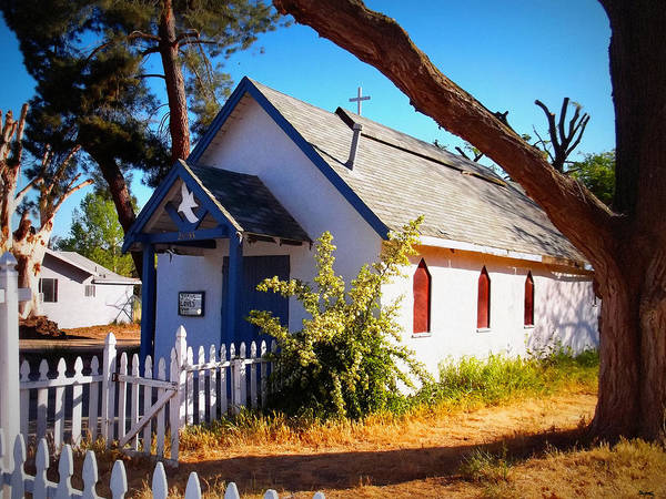 Cross Country Photograph - Little Country Church by Glenn McCarthy Art and Photography