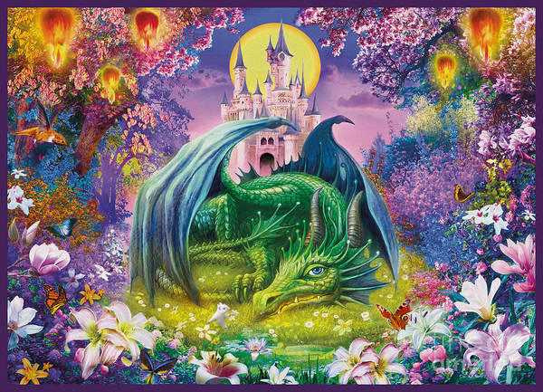Wall Art - Digital Art - Little Dragon by MGL Meiklejohn Graphics Licensing