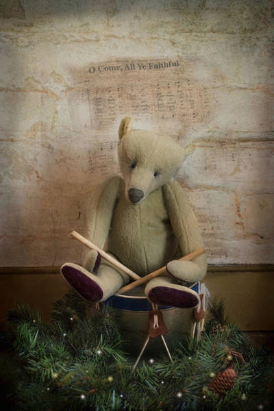 Photograph - Little Drummer Bear by Robin-Lee Vieira