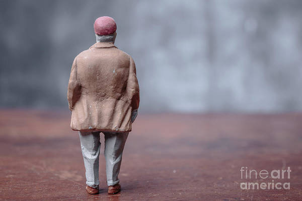Rights-managed Wall Art - Photograph - Little Fat Guy by Edward Fielding