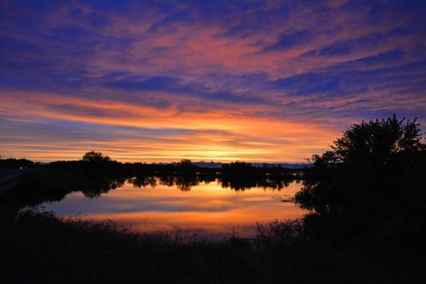 Photograph - Little Fly Creek Sunset 1 by Keith Stokes