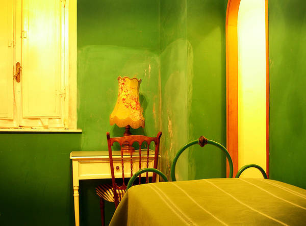 Photograph - Little Green Room by Jed Holtzman