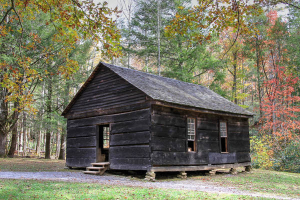 Little Greenbrier School Photograph - Little Greenbrier Schoolhouse by Bryan Nowak