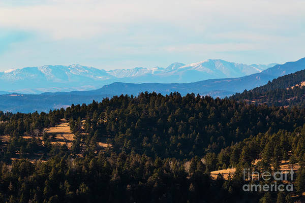 Photograph - Little Grouse And Collegiate Peaks by Steve Krull