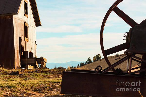 Photograph - Little Grouse Mining Operation by Steve Krull