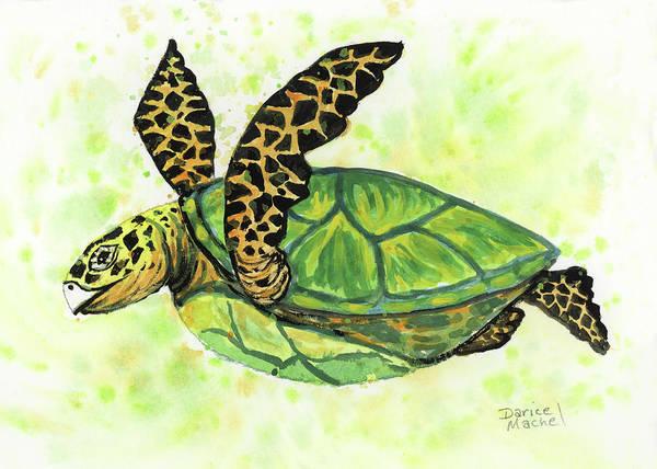 Painting - Little Honu by Darice Machel McGuire